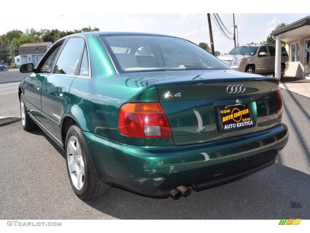 1997 cactus green metallic audi a4 2 8 quattro sedan 53982619 photo 2 car. Black Bedroom Furniture Sets. Home Design Ideas
