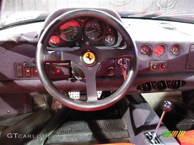 1991 Ferrari F40 Standard F40 Model Red Dashboard Photo