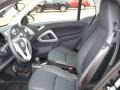 2011 fortwo passion coupe Black Leather Interior