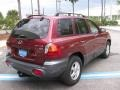 2004 Merlot Red Hyundai Santa Fe LX  photo #3