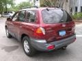 2004 Merlot Red Hyundai Santa Fe LX  photo #6