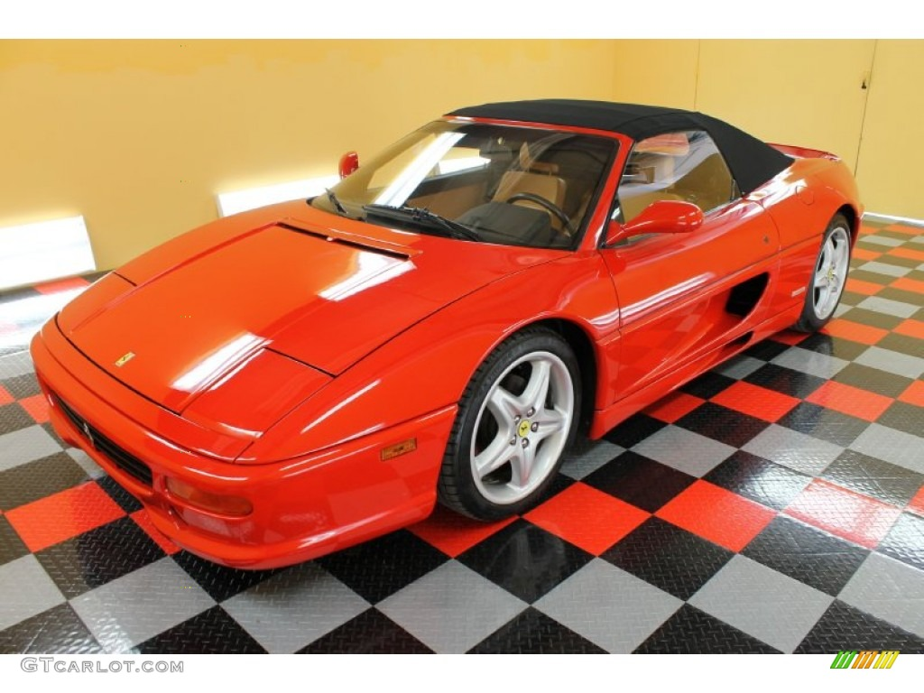 Red 1997 Ferrari F355 Spider Exterior Photo #54179231