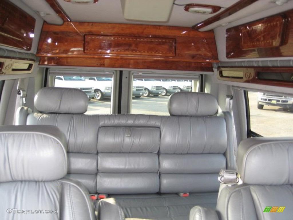 Medium Graphite Interior 2000 Ford E Series Van E150 Passenger Conversion Photo #54181942