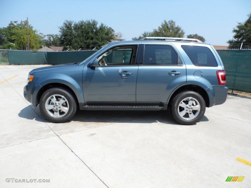 steel blue metallic 2012 ford escape limited v6 exterior photo 54207690. Black Bedroom Furniture Sets. Home Design Ideas