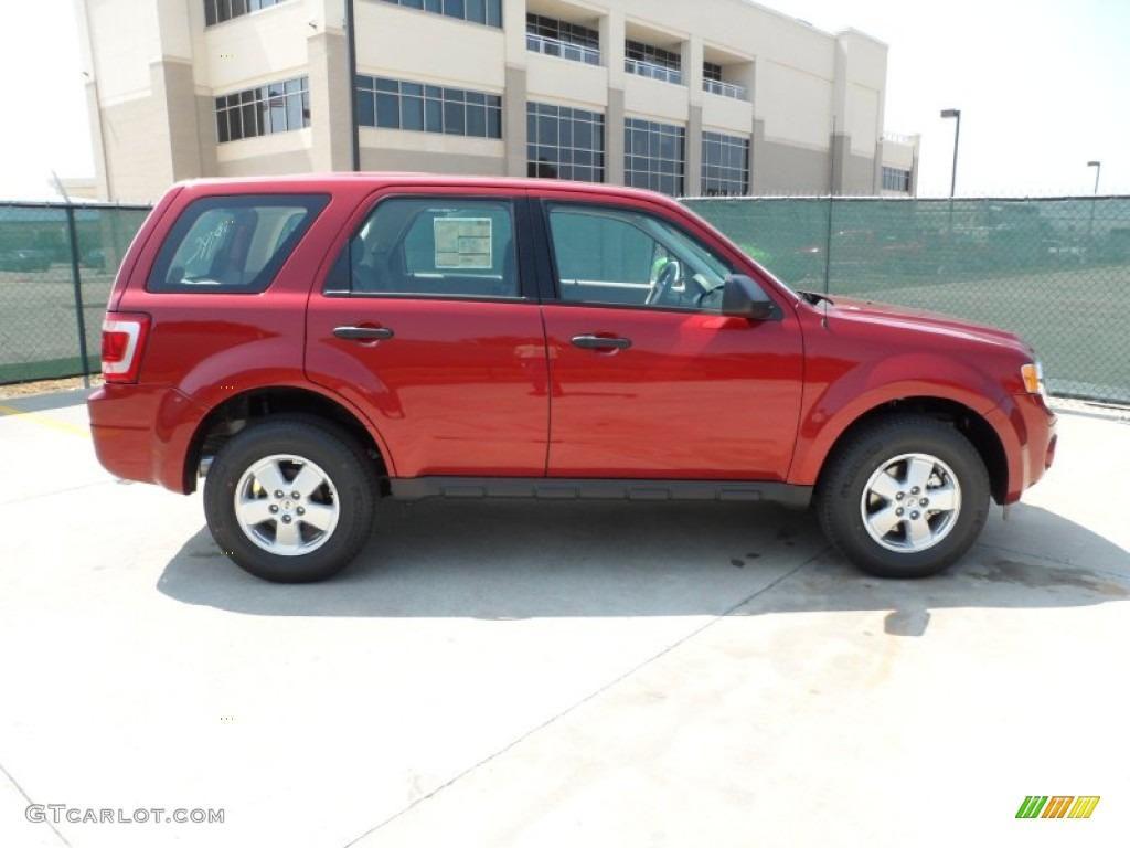toreador red metallic 2012 ford escape xls exterior photo 54208029. Black Bedroom Furniture Sets. Home Design Ideas