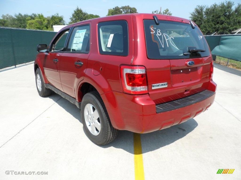 toreador red metallic 2012 ford escape xls exterior photo 54208056. Black Bedroom Furniture Sets. Home Design Ideas