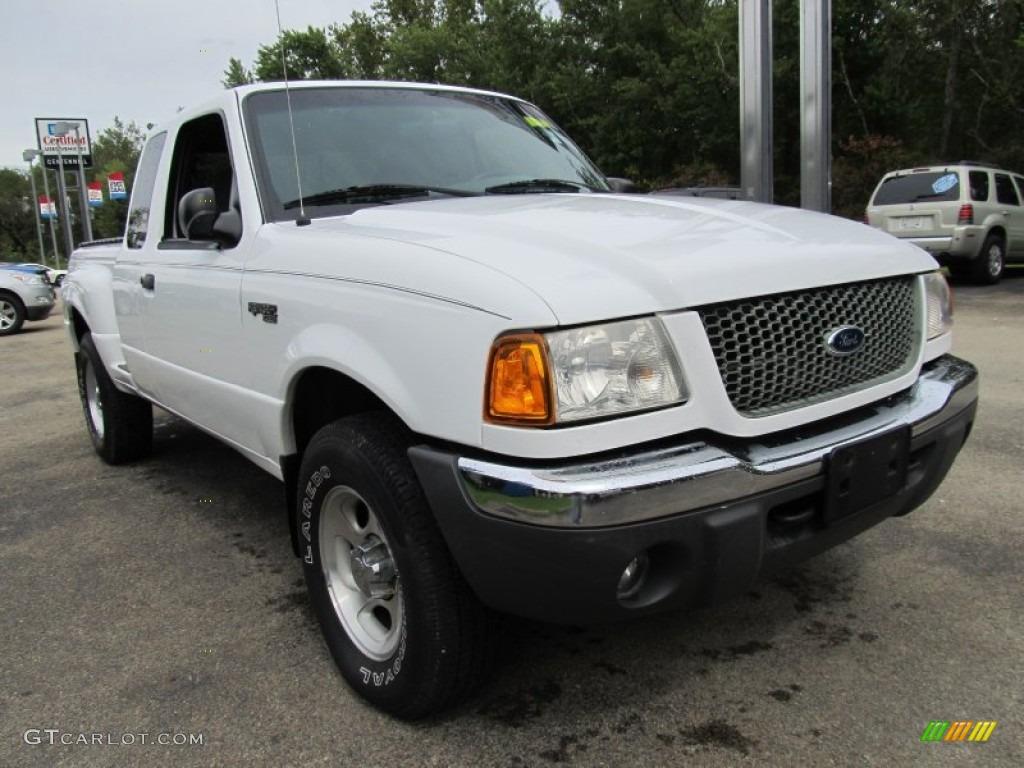 Oxford white 2001 ford ranger xlt supercab 4x4 exterior photo 54209853