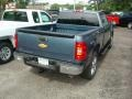 2012 Blue Granite Metallic Chevrolet Silverado 1500 LT Extended Cab 4x4  photo #2