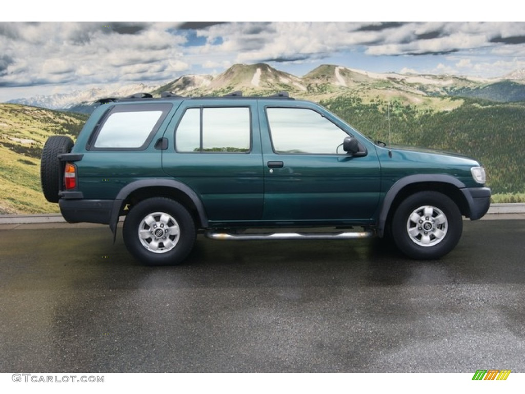 cobalt green pearl 1997 nissan pathfinder se 4x4 exterior. Black Bedroom Furniture Sets. Home Design Ideas