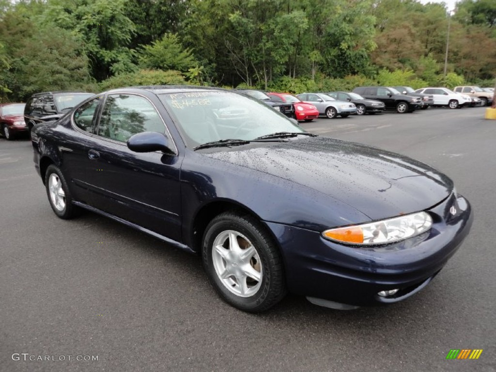 Midnight Blue Metallic Oldsmobile Alero
