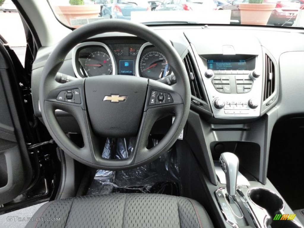 2012 Chevrolet Equinox LS Jet Black Dashboard Photo #54222900 ...