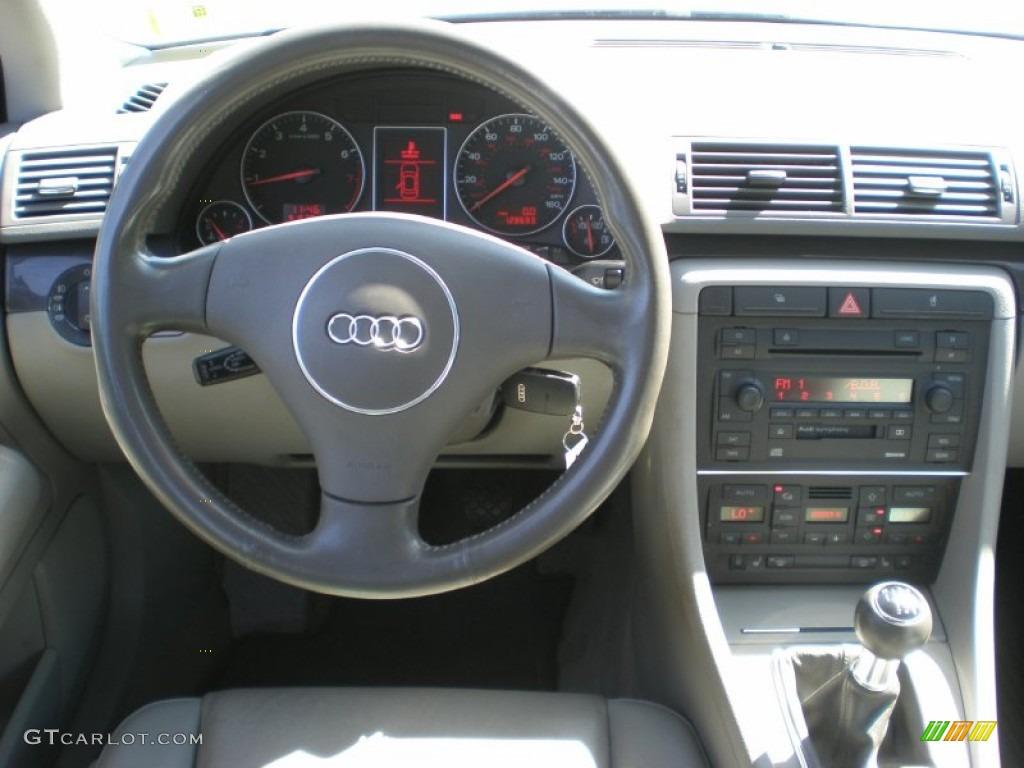 2004 audi a4 1.8t quattro avant grey dashboard photo #54228196