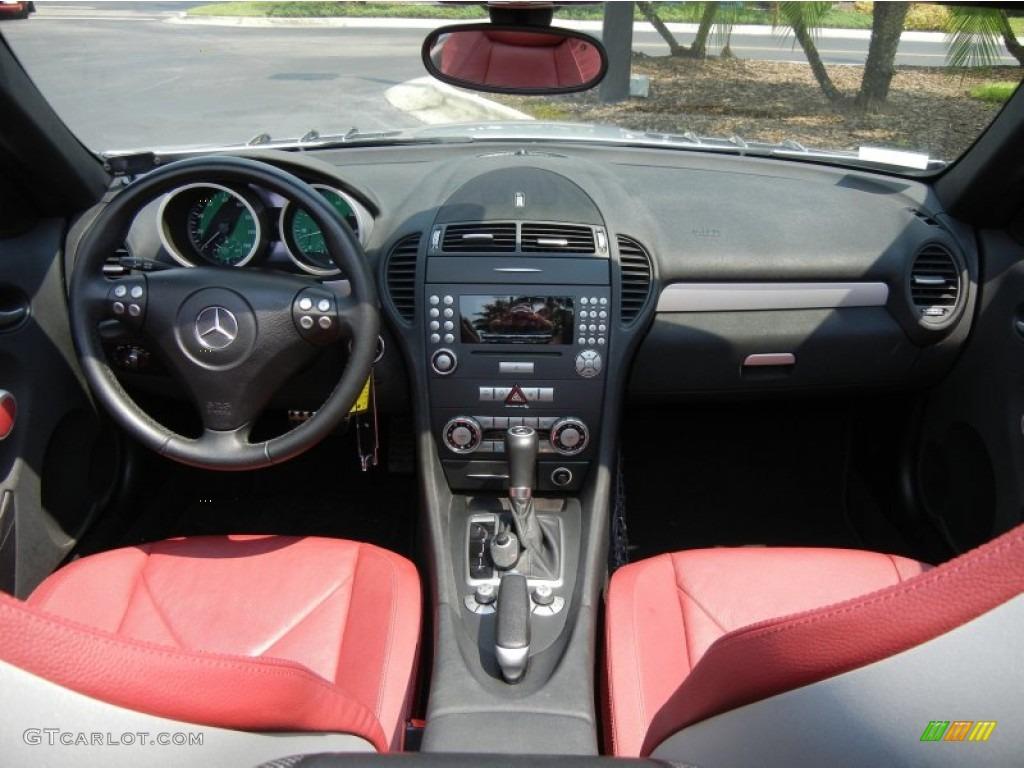 2006 mercedes benz slk 350 roadster black red dashboard for Mercedes benz interior parts online