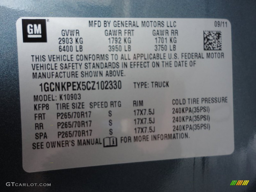 2012 Silverado 1500 Work Truck Regular Cab 4x4 - Blue Granite Metallic / Dark Titanium photo #20
