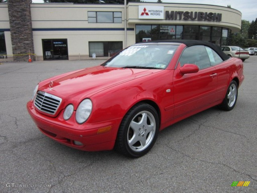 1999 magma red mercedes benz clk 320 convertible 54241951 for Mercedes benz red convertible