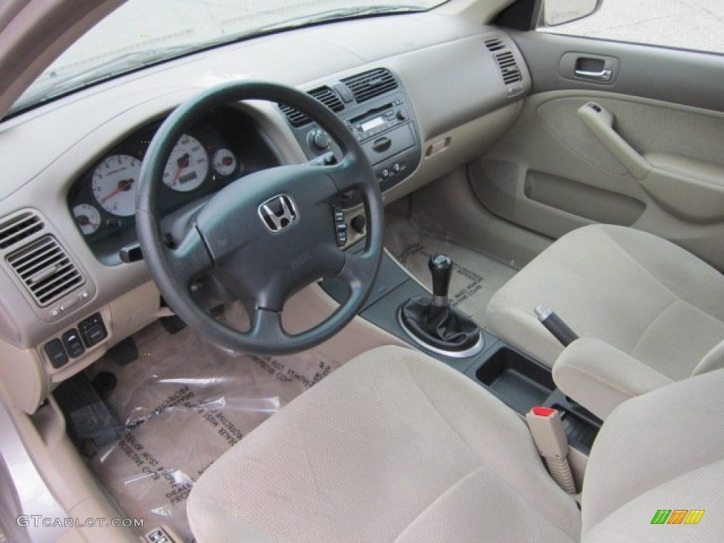 beige interior 2002 honda civic ex sedan photo 54250937 gtcarlot com rh gtcarlot com 2001 Honda Civic 4 Door 2001 Honda Civic Ex Coupe with Spoiler