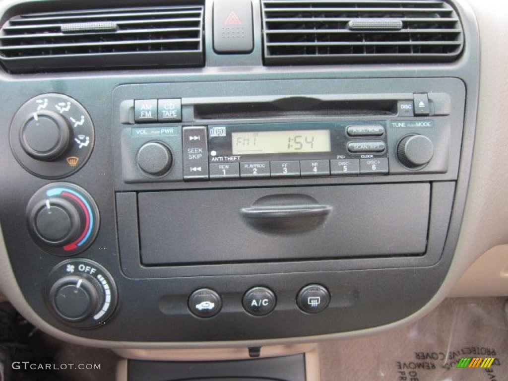 2002 honda civic ex sedan audio system photo 54251009. Black Bedroom Furniture Sets. Home Design Ideas
