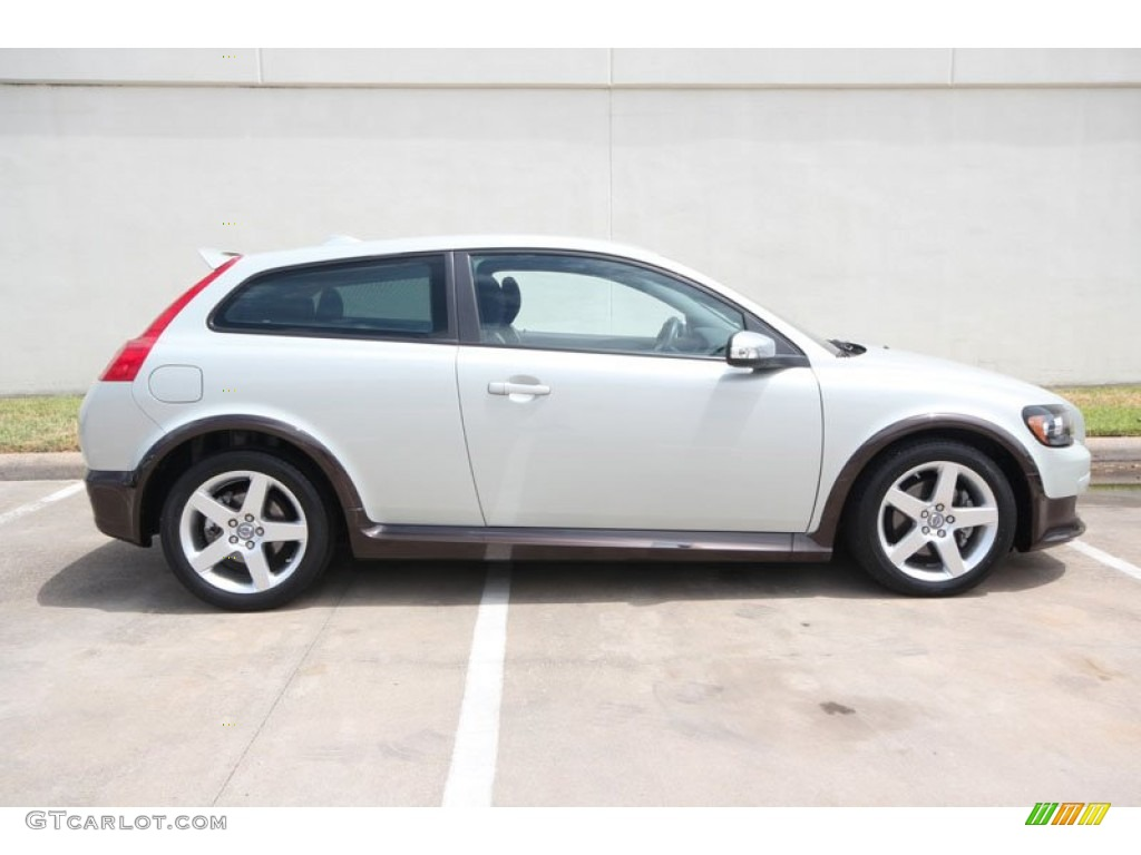cosmic white metallic 2009 volvo c30 t5 r design exterior photo 54258890. Black Bedroom Furniture Sets. Home Design Ideas