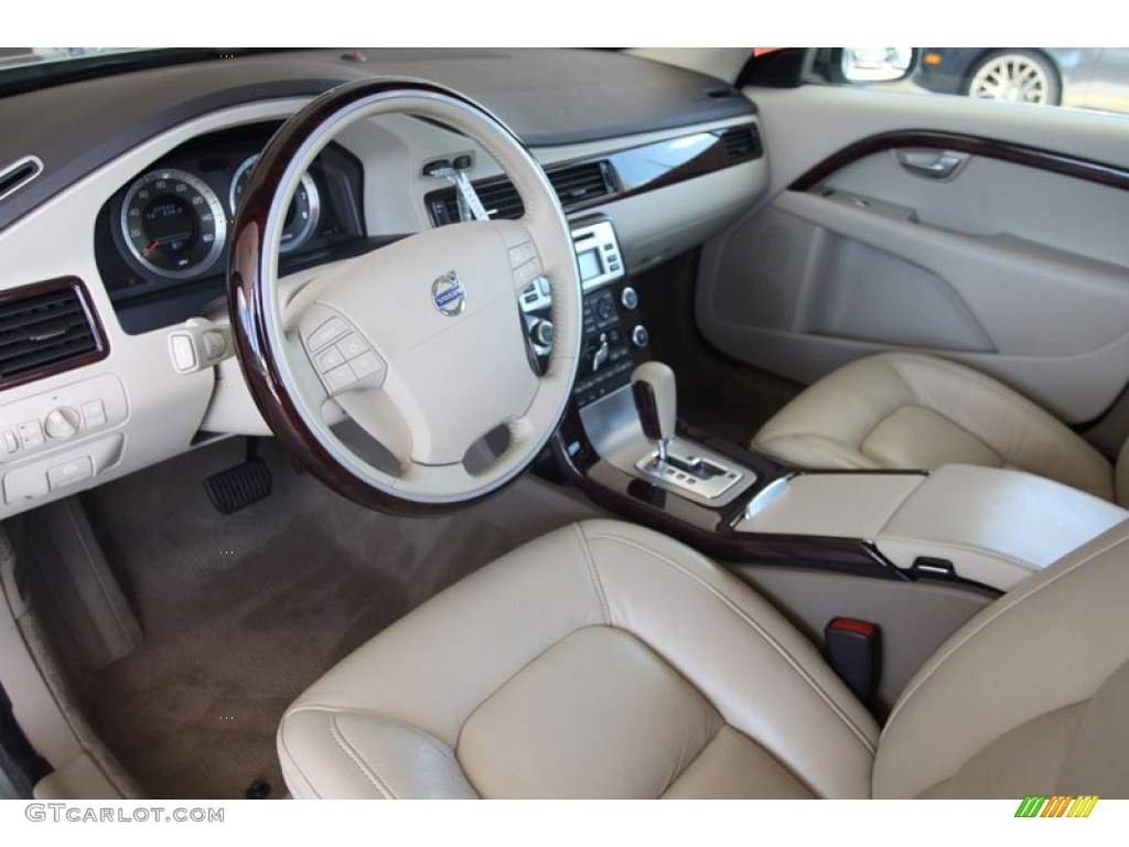Sandstone Beige Interior 2008 Volvo S80 V8 Awd Photo