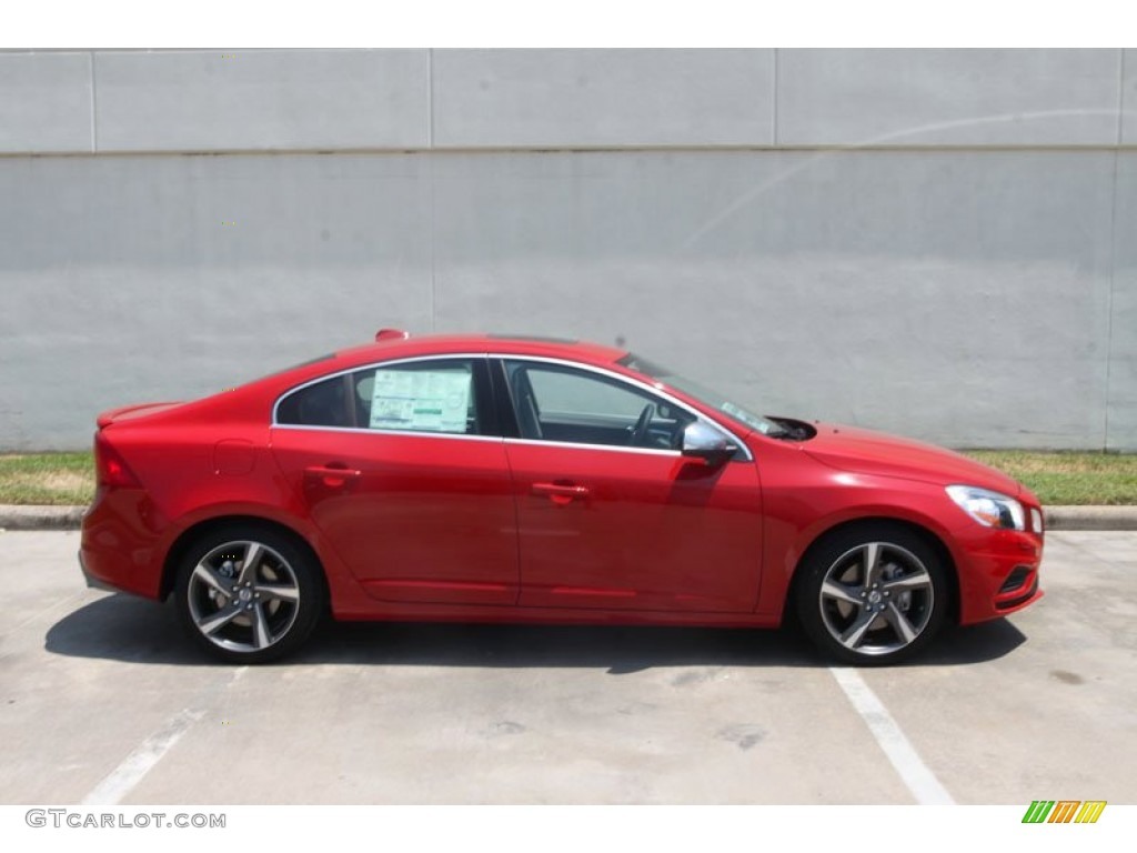 passion red 2012 volvo s60 r design awd exterior photo 54269336. Black Bedroom Furniture Sets. Home Design Ideas