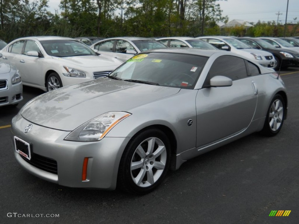chrome silver 2003 nissan 350z touring coupe exterior. Black Bedroom Furniture Sets. Home Design Ideas