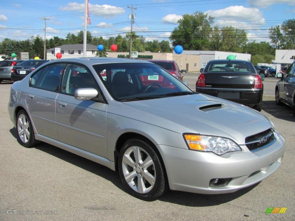 Brilliant silver metallic 2007 subaru legacy 2 5 gt limited sedan exterior photo 54277033