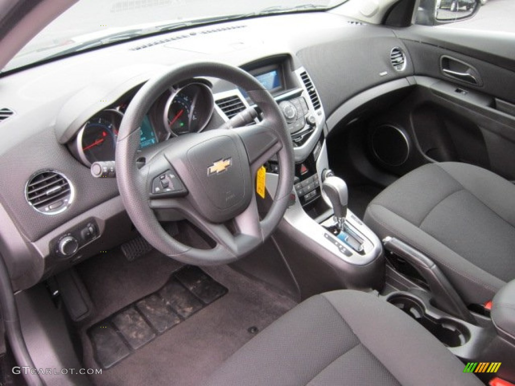 Jet Black Interior 2011 Chevrolet Cruze Lt Photo 54278216