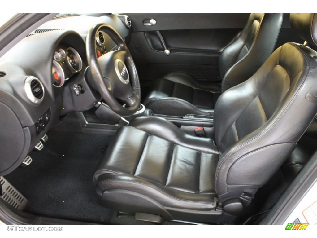 ebony interior 2002 audi tt 1 8t quattro coupe photo 54278522