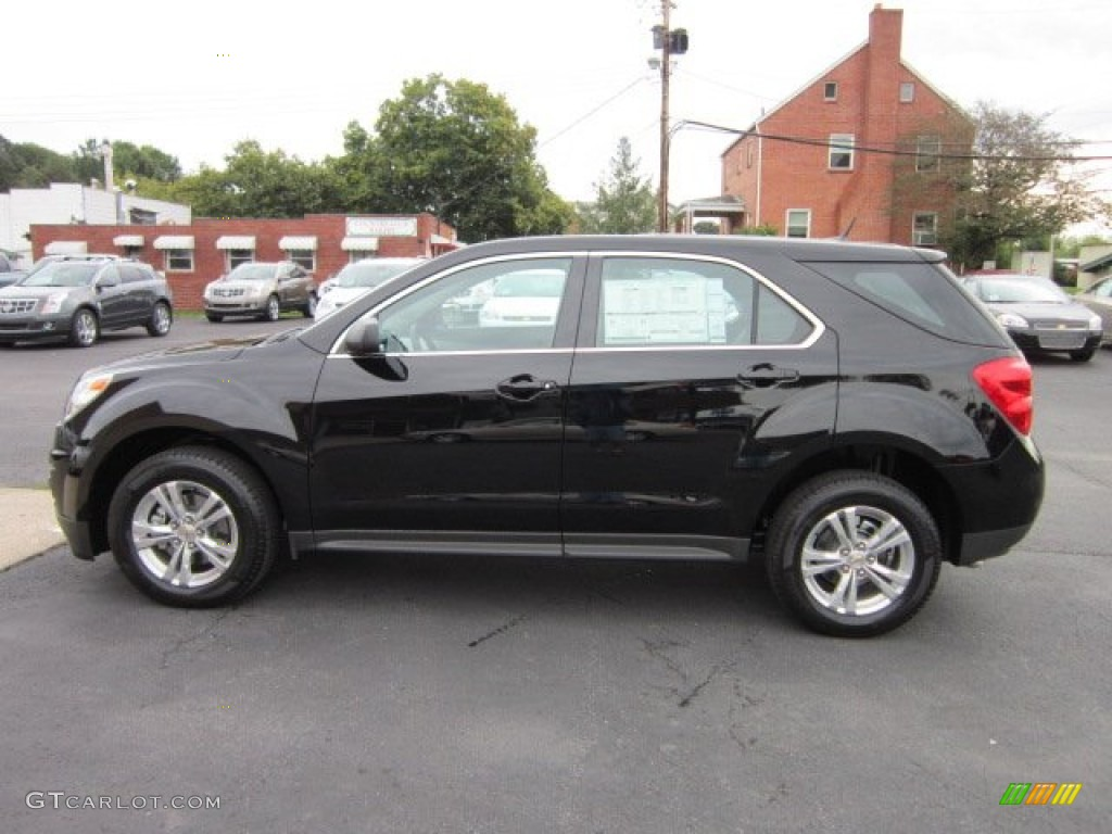 Black 2012 Chevrolet Equinox LS AWD Exterior Photo #54278822 ...