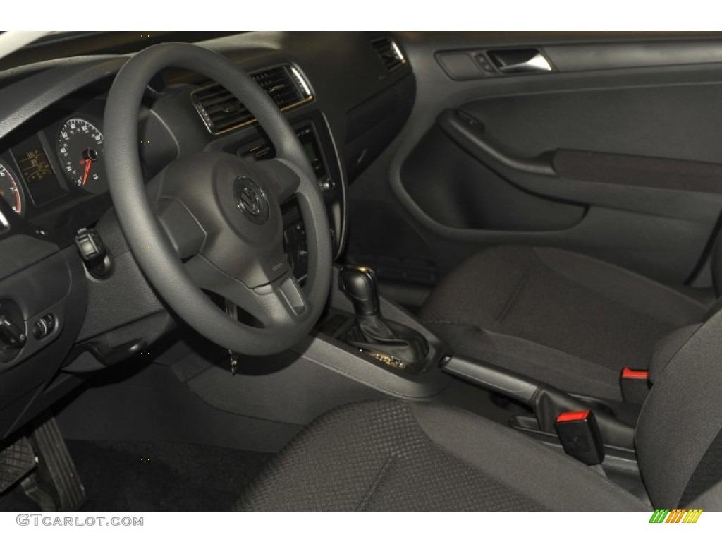Titan Black Interior 2012 Volkswagen Jetta S Sedan Photo 54283993