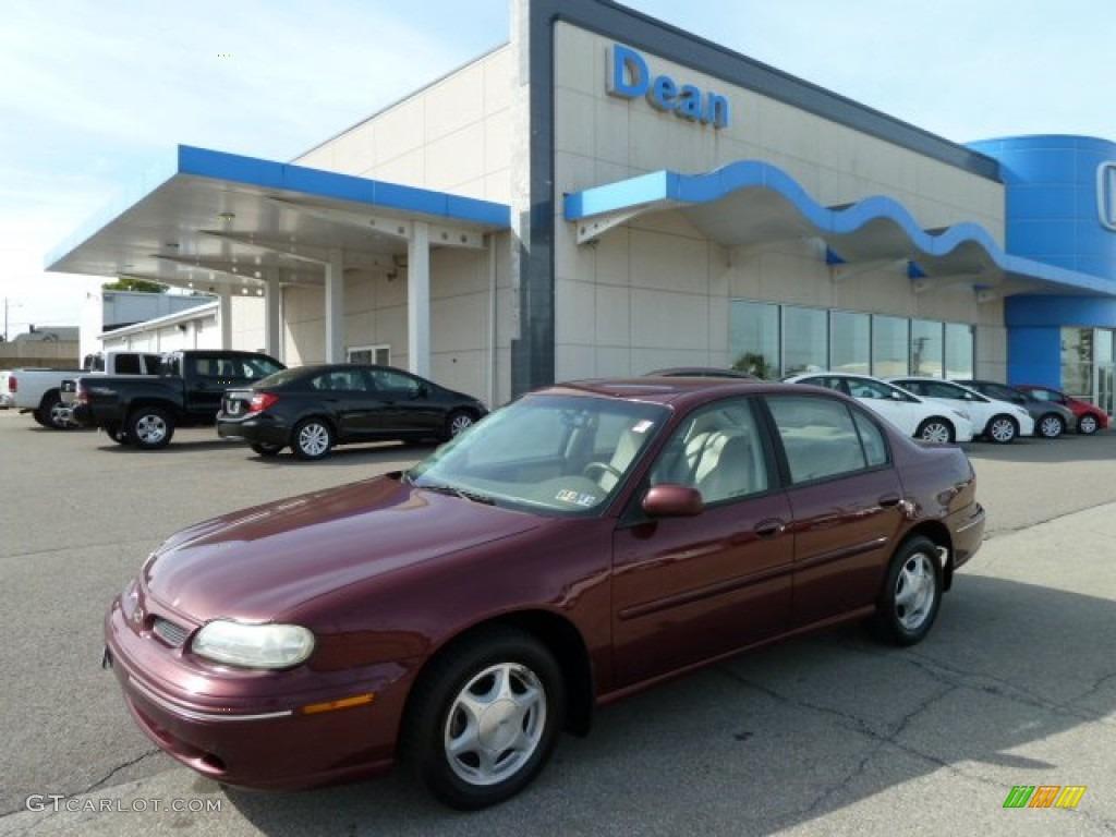1998 dark cherry metallic oldsmobile cutlass gls 54257131 gtcarlot com car color galleries gtcarlot com