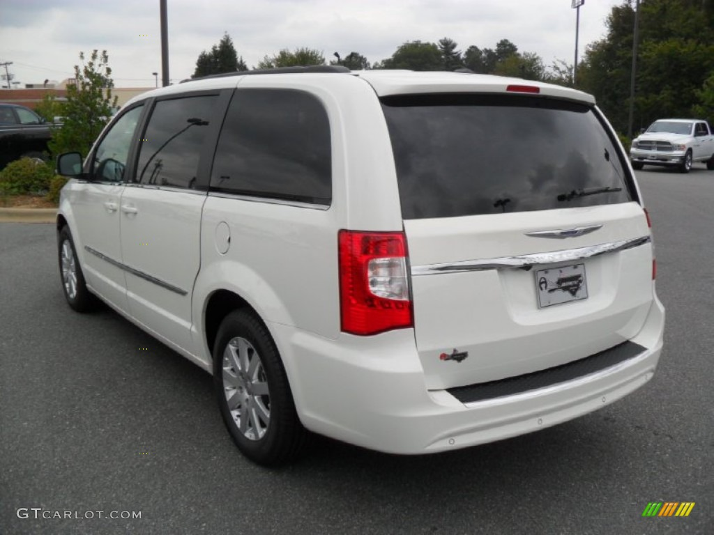 2012 stone white chrysler town country touring l for Stone s town country motors