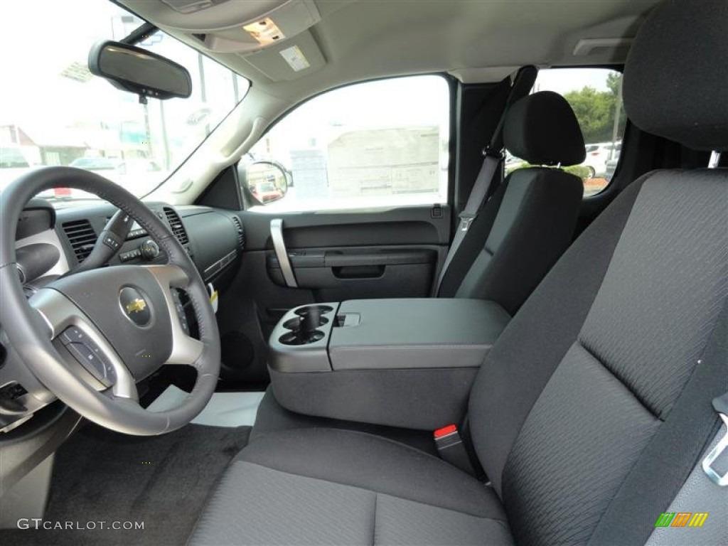 2011 Silverado 1500 LT Extended Cab - Black / Ebony photo #3