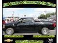2011 Black Chevrolet Silverado 1500 LS Extended Cab 4x4  photo #1