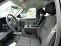 2011 Black Chevrolet Silverado 1500 Extended Cab  photo #3