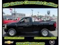 2011 Black Chevrolet Silverado 1500 Regular Cab 4x4  photo #1
