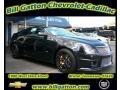 Black Diamond Tricoat 2011 Cadillac CTS -V Coupe Black Diamond Edition