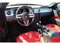Red Leather Prime Interior Photo for 2005 Ford Mustang #54313722