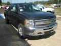 2012 Black Chevrolet Silverado 1500 LT Crew Cab 4x4  photo #6