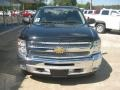 2012 Black Chevrolet Silverado 1500 LT Crew Cab 4x4  photo #7