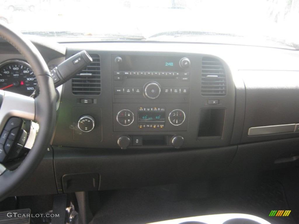 2012 Silverado 1500 LT Crew Cab 4x4 - Black / Ebony photo #8