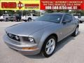 2007 Tungsten Grey Metallic Ford Mustang V6 Deluxe Coupe  photo #1