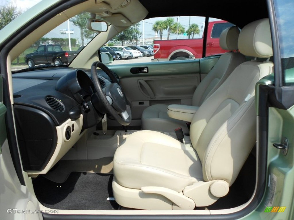Cream Beige Interior 2008 Volkswagen New Beetle S Convertible Photo 54324513