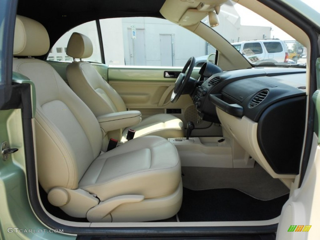 Cream Beige Interior 2008 Volkswagen New Beetle S Convertible Photo 54324534