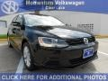 Black - Jetta SE Sedan Photo No. 1