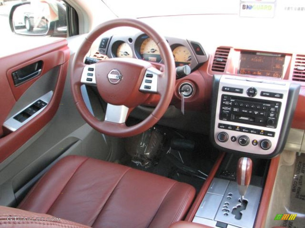 2005 Nissan Murano Sl Cabernet Dashboard Photo 54332119