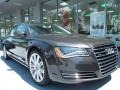 Oolong Gray Metallic 2012 Audi A8 Gallery
