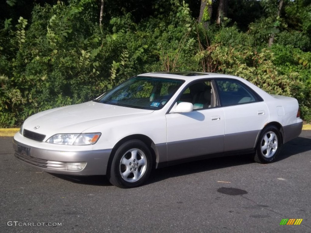 1997 es 300 diamond white pearl gray photo 1