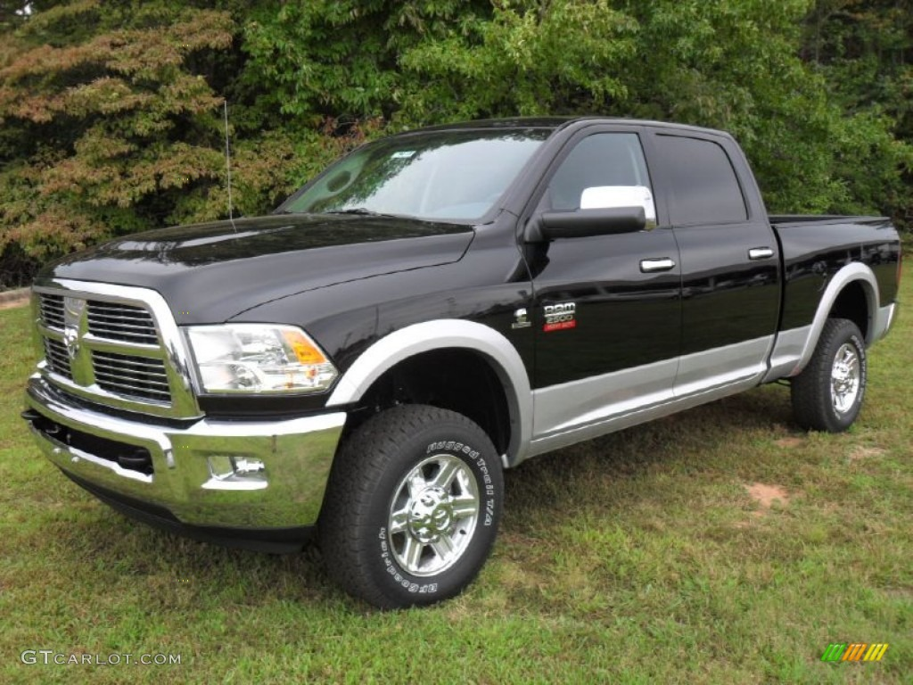 black 2012 dodge ram 2500 hd laramie crew cab 4x4 exterior photo 54342997. Black Bedroom Furniture Sets. Home Design Ideas
