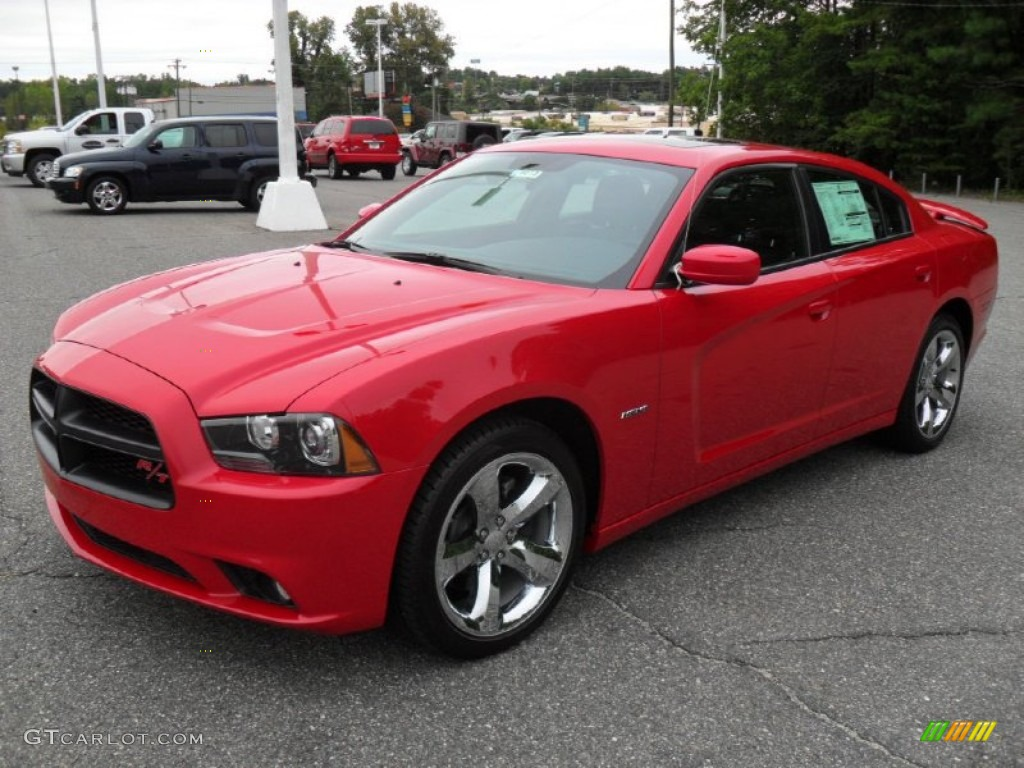 2012 Redline 3 Coat Pearl Dodge Charger R T Road And Track